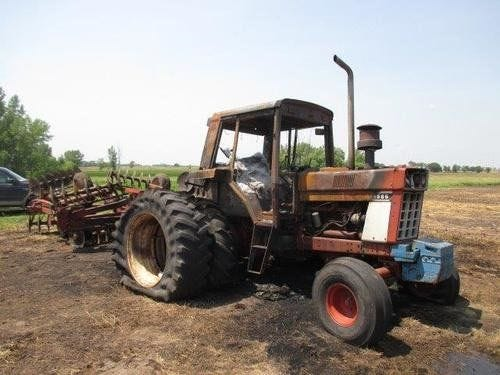 Used International 1586 Tractor Parts
