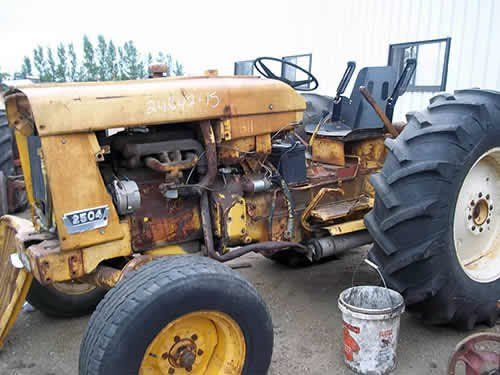 Used International 2504 Tractor Parts