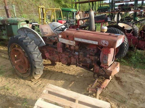 Used International 340 Tractor Parts