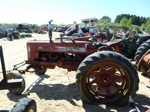 Used International 350 Tractor Parts