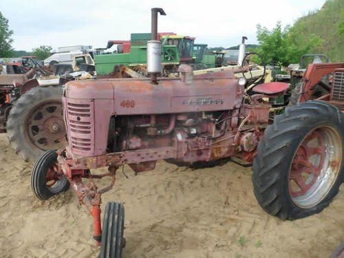 Used International 400 Tractor Parts