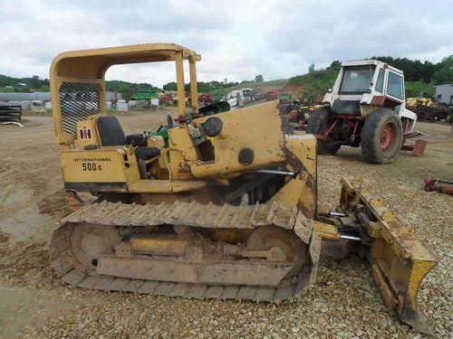 Used International 500 Construction & Industrial Parts