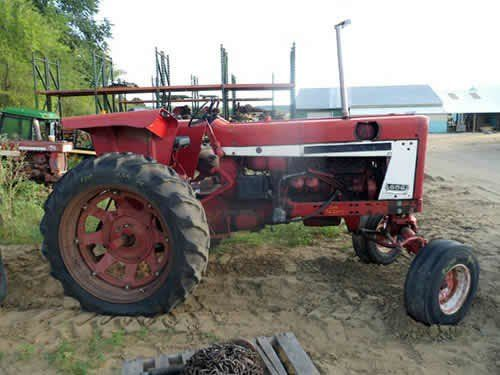 Used International 656 Tractor Parts