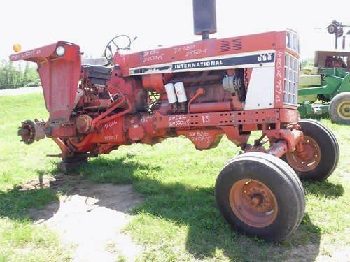 Used International 686 Tractor Parts