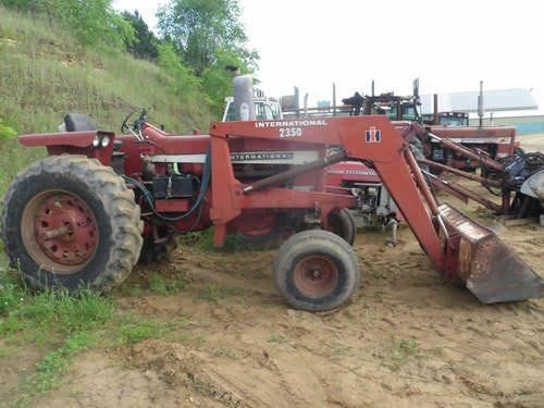 Used International 756 Tractor Parts