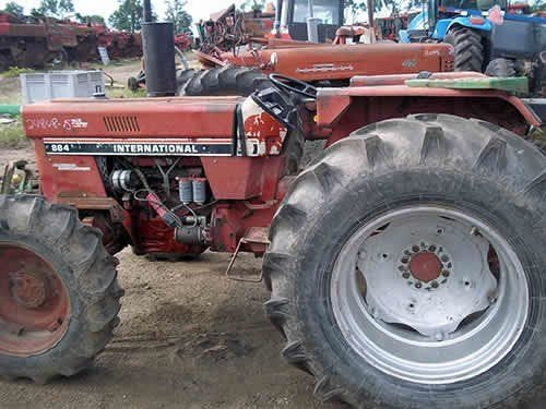 Used International 884 Tractor Parts