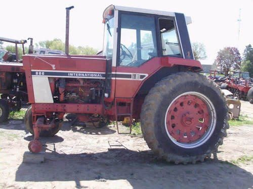 Used International 886 Tractor Parts