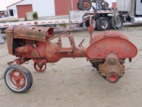 Used International A Tractor Parts