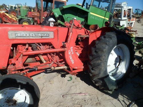 Used International B414 Tractor Parts