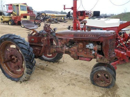 Used International c Tractor Parts