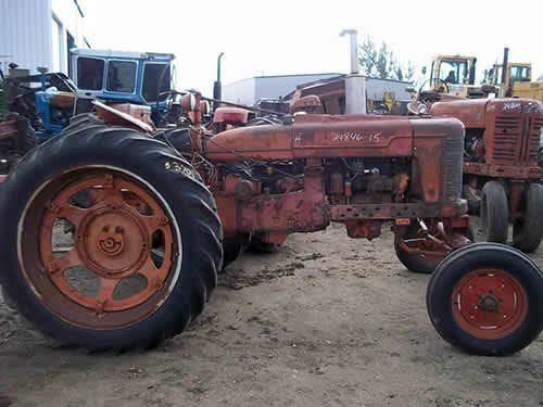 Used 1942 International H Tractor Parts