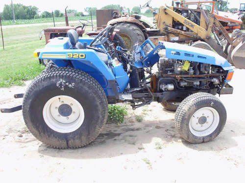 Used Iseki TU320 Tractor Parts
