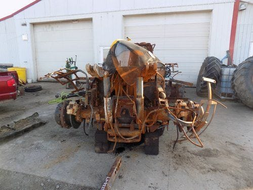 Used 2004 JCB 3220 Tractor Parts