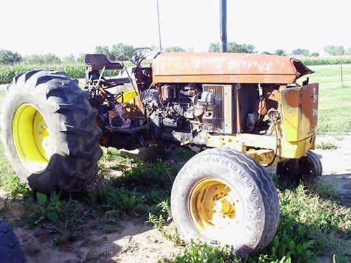 Used John Deere 2555 Tractor Parts