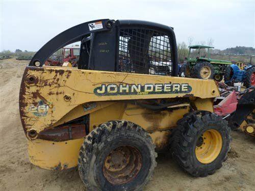 Used John Deere 260 Skid Steer Loader Parts