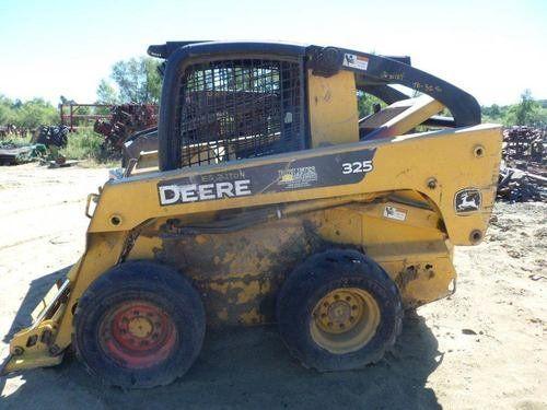 Used John Deere 325 Skid Steer Loader Parts
