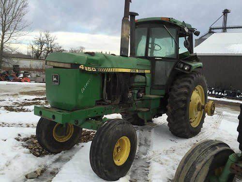 Used John Deere 4650 Tractor Parts