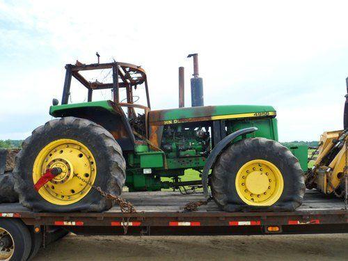 Used John Deere 4955 Tractor Parts