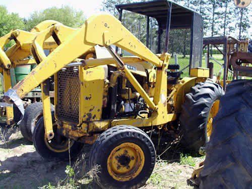 Used John Deere 500 Construction & Industrial Parts