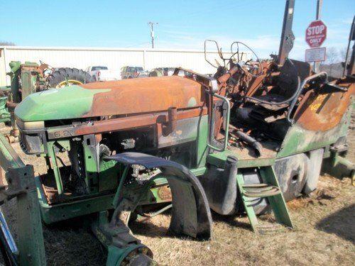 Used John Deere 6200 Tractor Parts