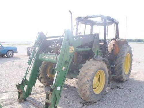 Used 2006 John Deere 6415 Tractor Parts