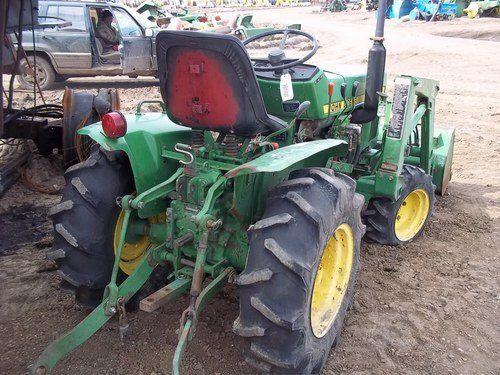 Used John Deere 650 Tractor Parts