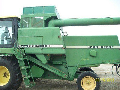 Used John Deere 6620 Combine Parts