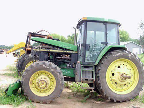 Used John Deere 7200 Tractor Parts