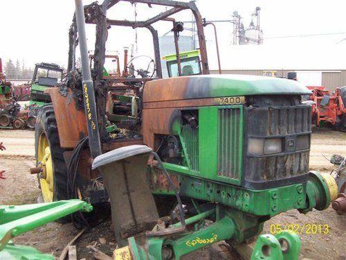 Used John Deere 7400 Tractor Parts