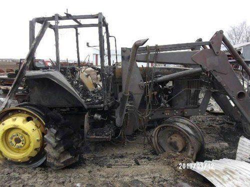 Used John Deere 7410 Tractor Parts