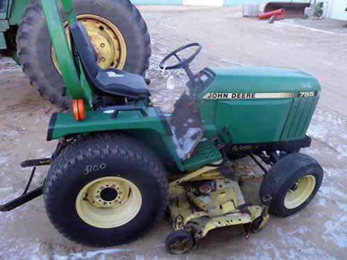 Used John Deere 755 Tractor Parts