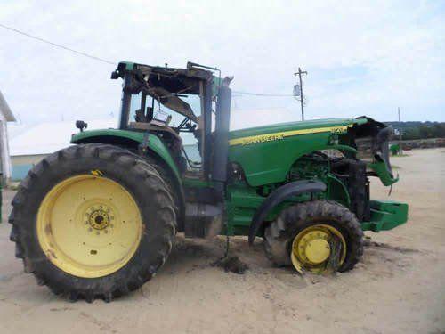 Used John Deere 8120 Tractor Parts