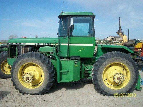 Used John Deere 8450 Tractor Parts