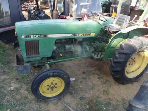 Used John Deere 850 Tractor Parts