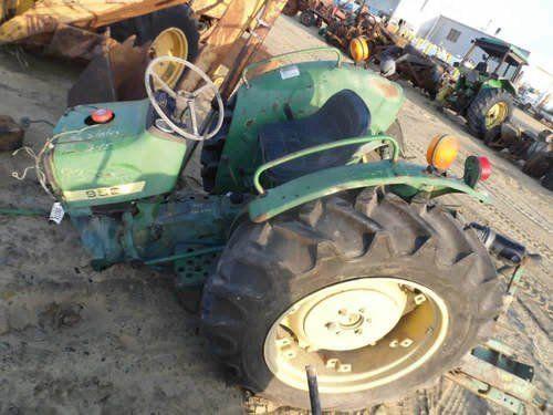 Used John Deere 950 Tractor Parts