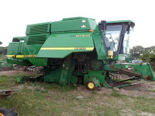 Used John Deere 9610 Combine Parts