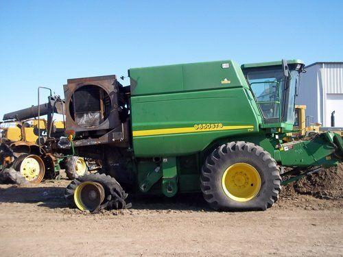 Used 2004 John Deere 9650 Combine Parts