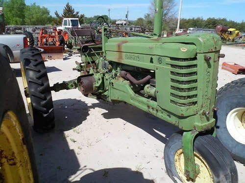 Used John Deere B Tractor Parts