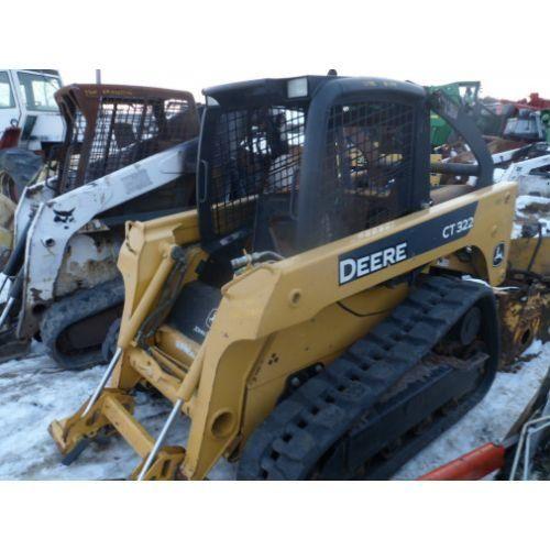 Used 2006 John Deere CT322 Skid Steer Loader Parts