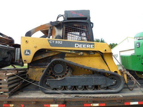 Used John Deere CT332 Skid Steer Loader Parts