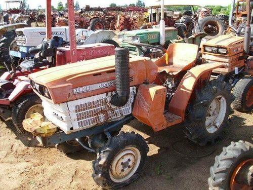 Used Kubota B1400 Tractor Parts