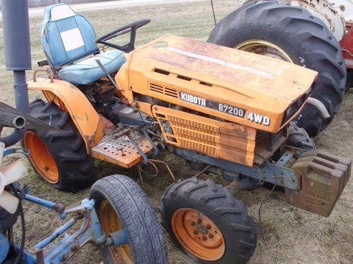 Used Kubota B7200 Tractor Parts