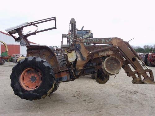Used 2005 Kubota M9000 Tractor Parts