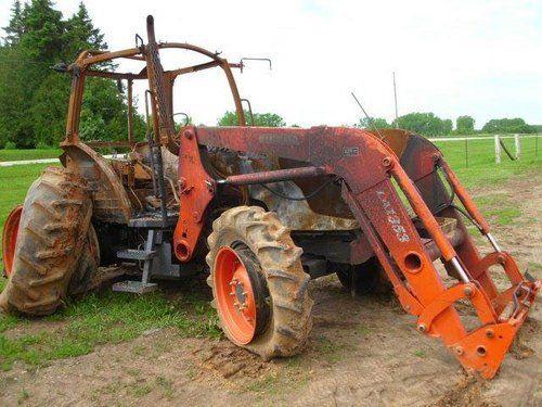 Used 2010 Kubota M9540 Tractor Parts