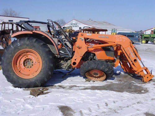 Used 2006 Kubota M9540 Tractor Parts