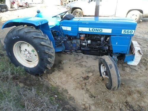 Used Long 560 Tractor Parts
