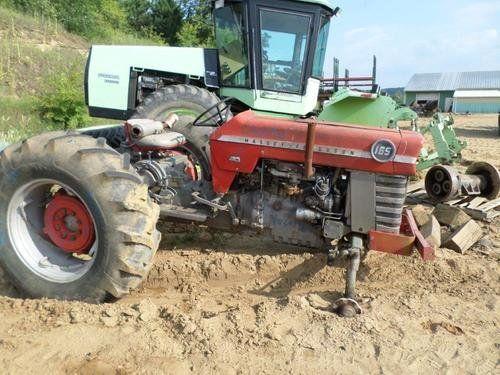 Used Massey Ferguson 165 Tractor Parts