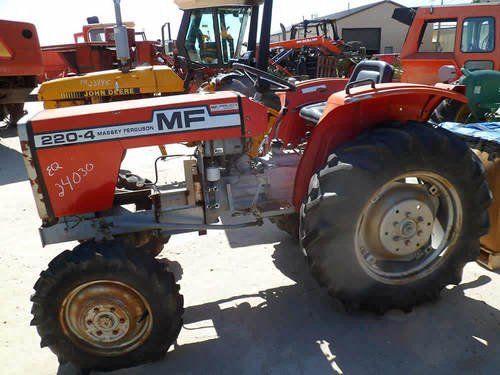 Used Massey Ferguson 220-4 Tractor Parts
