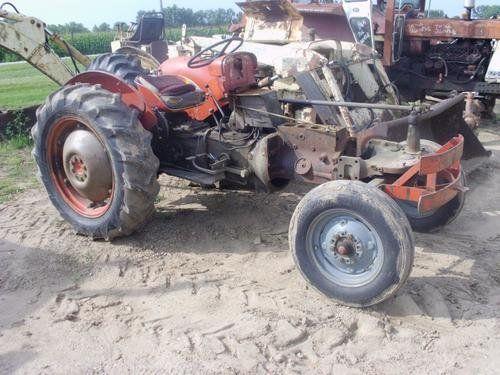 Used Massey Ferguson 40 Tractor Parts