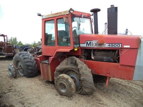 Used Massey Ferguson 4900 Tractor Parts